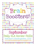Brain Boosters - September