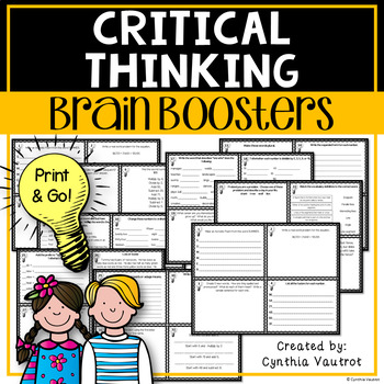 Brain Boosters! for Bigger Kids - Set 1