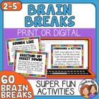 Brain Breaks: 60 Quick and Engaging Brain Break Cards