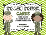 Brain Break Cards for the Classroom