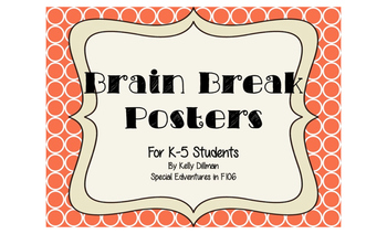 Brain Break Posters