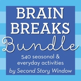 Brain Breaks Bundle for the Entire Year