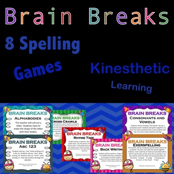 Spelling Brain Breaks