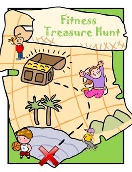 Brain Breaks - Fitness/Physical Activity Treasure Hunt!