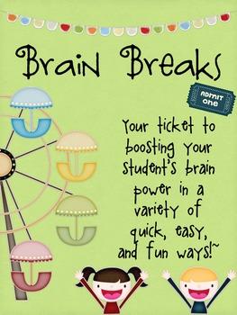 Brain Breaks and Fidgets