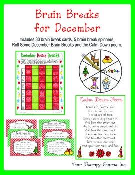 Brain Breaks for December/ Christmas