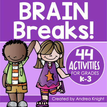 Brain Breaks for Multiple Intelligences:  44 Fun Activitie