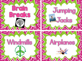 Brain Breaks with Descriptions
