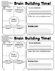 Brain Builder Log Book - Pack 1