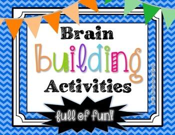 Brain Building Activities