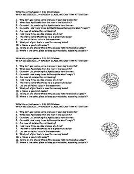 Brain Games Season 1 2011 Video Worksheet