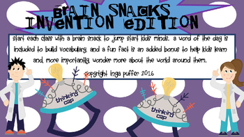 Brain Snacks: Invention Edition