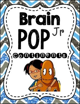 Brain pop:Continents and Oceans