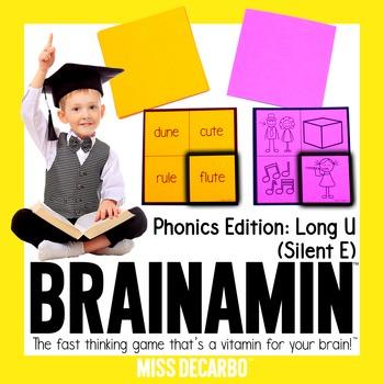 Brainamin™ Phonics Edition: Long Vowel U (Silent E)