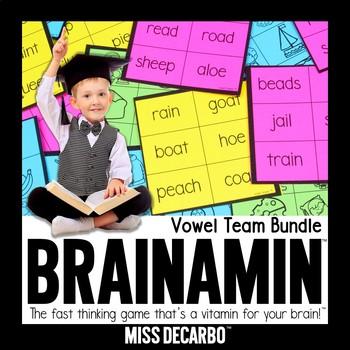 Brainamin Phonics Edition: Vowel Team Bundle