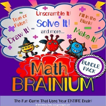 Math Games: Place Value Game, Addition and Subtraction Gam