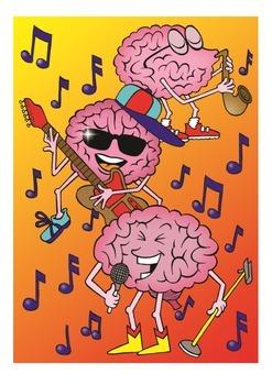 Brains Love Music Poster