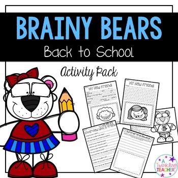 Brainy Bears Activity Pack