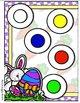 Brainy Bunny Colors File Folder Game