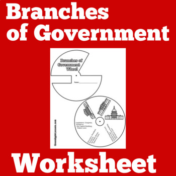 Branches of Government Activity   3 Branches of Government