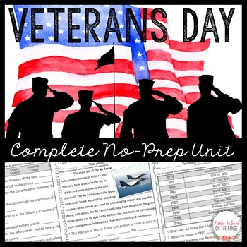 Veteran's Day Unit