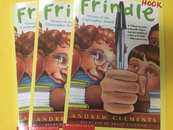 "Brand NEW ""Frindle"" books, by Andrew Clements  - Literatur"