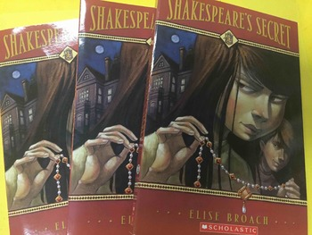 "Brand NEW ""Shakespeare's Secret"" books, by Broach - Litera"