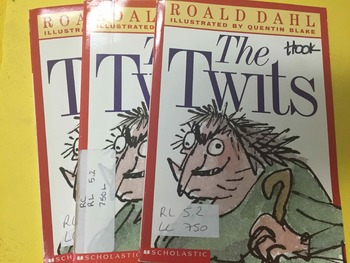 """Brand NEW """"The Twits"""" books, by Roald Dalh - Literature Ci"""