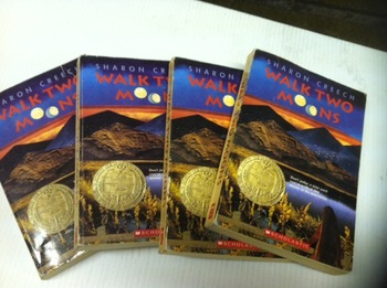 """Brand NEW """"Walk Two Moons"""" books, by Sharon Creech - Liter"""