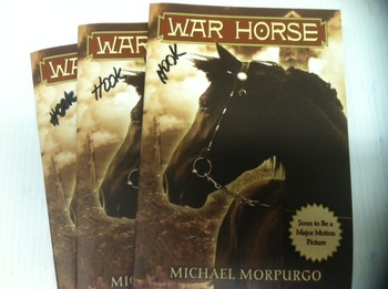 "Brand NEW ""War Horse"" books, by Michael Morpurgo  - Litera"