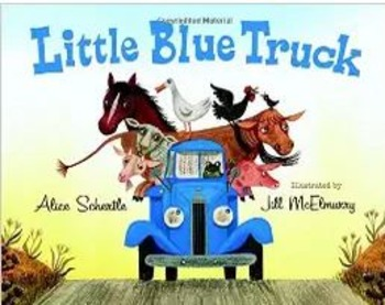 Brand new Little Blue Truck Board Book by Alice Schertle