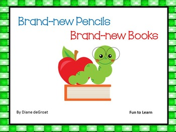 Brand-new Pencils   Brand-new Books 40 pgs. of Common Core