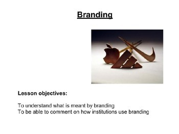 Branding - Media Studies/Business