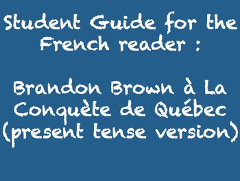 Brandon Brown à la Conquête de Québec - guides for ALL cha