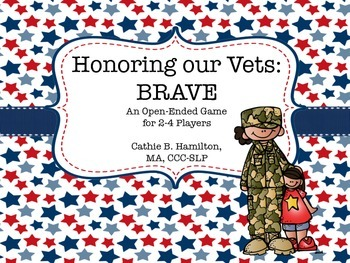 Brave: An Open-Ended Game for Veteran's Day