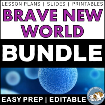 Brave New World Activity Mini Bundle