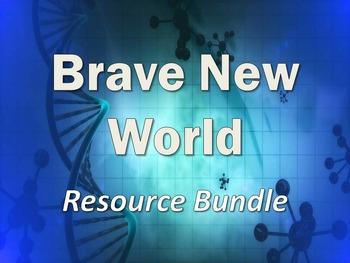Brave New World Bundle: Blog Activity, Gallery Walk, & The