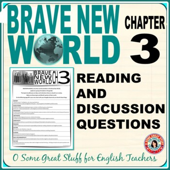 Brave New World Chapter 3 Activity