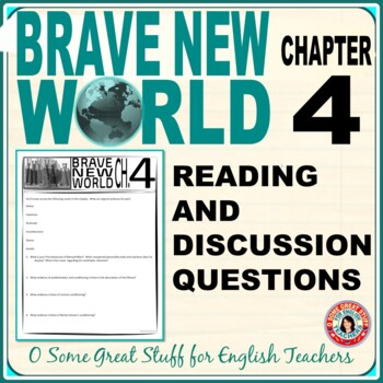 Brave New World Chapter 4 Activity