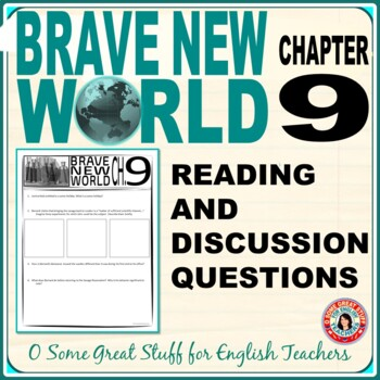 Brave New World Chapter 9 Comprehension and Analysis Activities