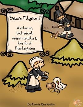 Brave Pilgrims Coloring Book