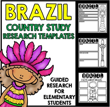 Brazil Country Study Research Project Templates and Graphi