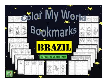 Brazil Bookmarks