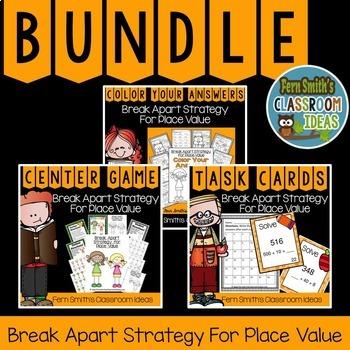 Break Apart Strategy for Place Value Bundle