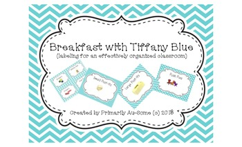 Breakfast with Tiffany Blue (Labels for an effectively org