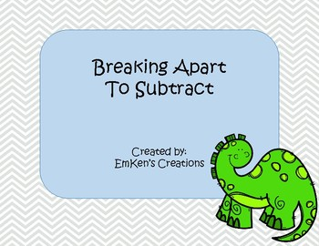 Breaking Apart to Subtract