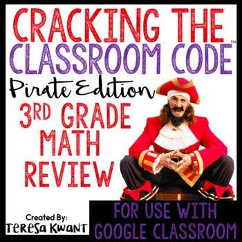 Cracking the Classroom Code 3rd Grade Math Review Game