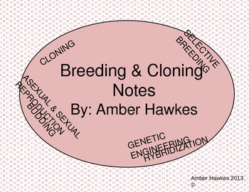 Breeding and cloning notes (powerpoint)