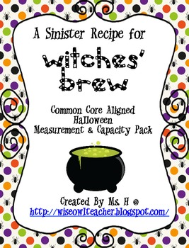 Brewin' Up a Good Time - A Halloween Mini-Pack on Capacity