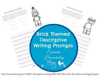 Brick Themed Descriptive Writing Prompts